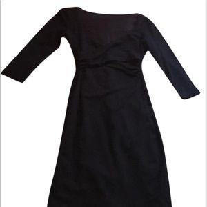Bebe black bodycon dress.
